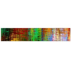 Color Abstract Background Textures Flano Scarf (large)