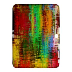 Color Abstract Background Textures Samsung Galaxy Tab 4 (10 1 ) Hardshell Case