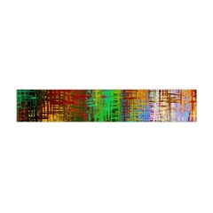 Color Abstract Background Textures Flano Scarf (Mini)