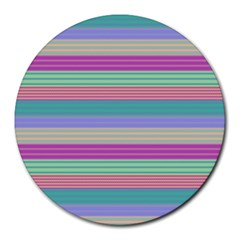 Backgrounds Pattern Lines Wall Round Mousepads