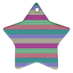 Backgrounds Pattern Lines Wall Ornament (Star)