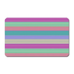 Backgrounds Pattern Lines Wall Magnet (Rectangular)