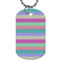 Backgrounds Pattern Lines Wall Dog Tag (One Side)