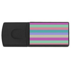 Backgrounds Pattern Lines Wall USB Flash Drive Rectangular (1 GB)