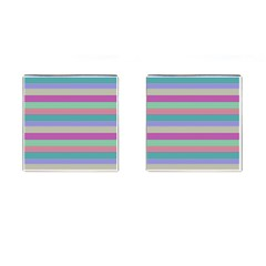 Backgrounds Pattern Lines Wall Cufflinks (Square)