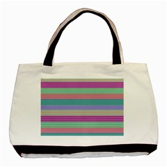 Backgrounds Pattern Lines Wall Basic Tote Bag