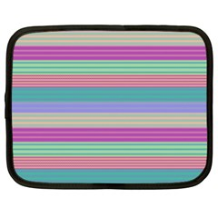 Backgrounds Pattern Lines Wall Netbook Case (XL)