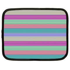 Backgrounds Pattern Lines Wall Netbook Case (xxl)
