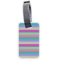 Backgrounds Pattern Lines Wall Luggage Tags (One Side)