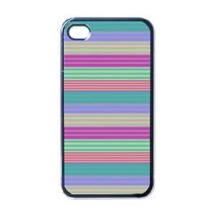 Backgrounds Pattern Lines Wall Apple iPhone 4 Case (Black)