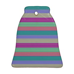 Backgrounds Pattern Lines Wall Bell Ornament (Two Sides)