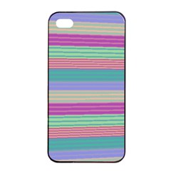 Backgrounds Pattern Lines Wall Apple Iphone 4/4s Seamless Case (black)