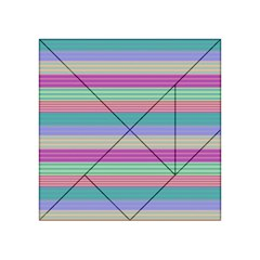 Backgrounds Pattern Lines Wall Acrylic Tangram Puzzle (4  x 4 )