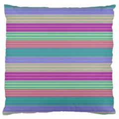 Backgrounds Pattern Lines Wall Large Cushion Case (One Side)