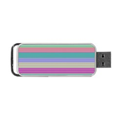 Backgrounds Pattern Lines Wall Portable USB Flash (One Side)