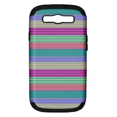 Backgrounds Pattern Lines Wall Samsung Galaxy S III Hardshell Case (PC+Silicone)