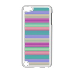 Backgrounds Pattern Lines Wall Apple iPod Touch 5 Case (White)