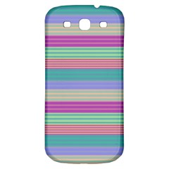 Backgrounds Pattern Lines Wall Samsung Galaxy S3 S III Classic Hardshell Back Case