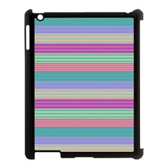 Backgrounds Pattern Lines Wall Apple iPad 3/4 Case (Black)