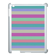 Backgrounds Pattern Lines Wall Apple iPad 3/4 Case (White)