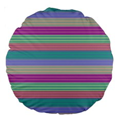 Backgrounds Pattern Lines Wall Large 18  Premium Round Cushions