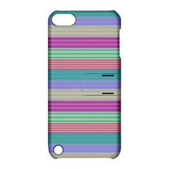 Backgrounds Pattern Lines Wall Apple Ipod Touch 5 Hardshell Case With Stand