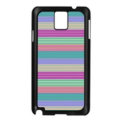 Backgrounds Pattern Lines Wall Samsung Galaxy Note 3 N9005 Case (Black)