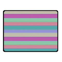 Backgrounds Pattern Lines Wall Double Sided Fleece Blanket (Small)