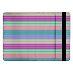 Backgrounds Pattern Lines Wall Samsung Galaxy Tab Pro 12.2  Flip Case