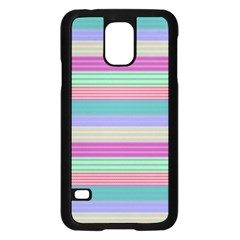 Backgrounds Pattern Lines Wall Samsung Galaxy S5 Case (Black)