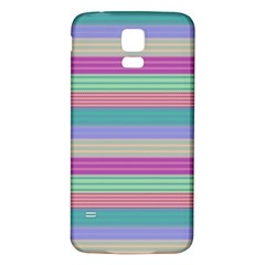 Backgrounds Pattern Lines Wall Samsung Galaxy S5 Back Case (White)