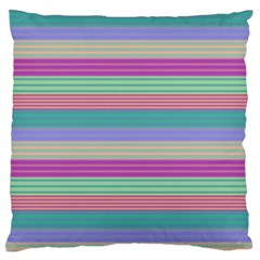 Backgrounds Pattern Lines Wall Large Flano Cushion Case (One Side)