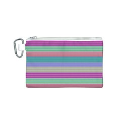 Backgrounds Pattern Lines Wall Canvas Cosmetic Bag (S)