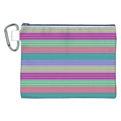 Backgrounds Pattern Lines Wall Canvas Cosmetic Bag (XXL)