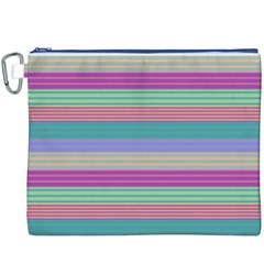 Backgrounds Pattern Lines Wall Canvas Cosmetic Bag (XXXL)