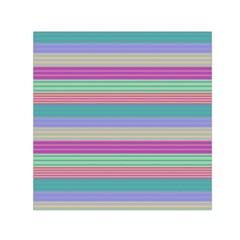 Backgrounds Pattern Lines Wall Small Satin Scarf (Square)