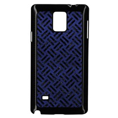 WOV2 BK-MRBL BL-LTHR (R) Samsung Galaxy Note 4 Case (Black)