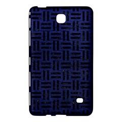 WOV1 BK-MRBL BL-LTHR (R) Samsung Galaxy Tab 4 (8 ) Hardshell Case