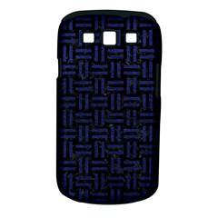 WOV1 BK-MRBL BL-LTHR Samsung Galaxy S III Classic Hardshell Case (PC+Silicone)