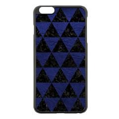 TRI3 BK-MRBL BL-LTHR Apple iPhone 6 Plus/6S Plus Black Enamel Case