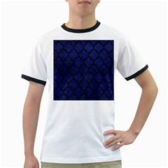 TIL1 BK-MRBL BL-LTHR (R) Ringer T-Shirts
