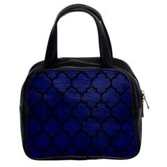 TIL1 BK-MRBL BL-LTHR (R) Classic Handbags (2 Sides)
