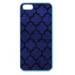 TIL1 BK-MRBL BL-LTHR (R) Apple Seamless iPhone 5 Case (Color)