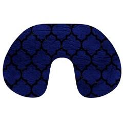 TIL1 BK-MRBL BL-LTHR (R) Travel Neck Pillows