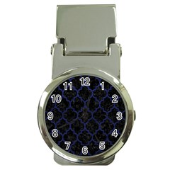TIL1 BK-MRBL BL-LTHR Money Clip Watches