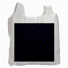 TIL1 BK-MRBL BL-LTHR Recycle Bag (One Side)