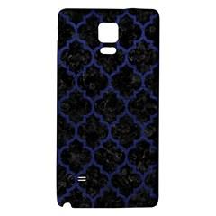 TIL1 BK-MRBL BL-LTHR Galaxy Note 4 Back Case