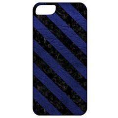 STR3 BK-MRBL BL-LTHR (R) Apple iPhone 5 Classic Hardshell Case