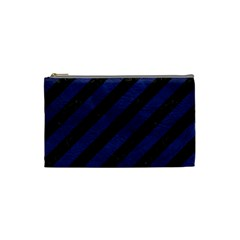 STR3 BK-MRBL BL-LTHR Cosmetic Bag (Small)