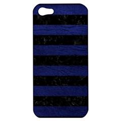 STR2 BK-MRBL BL-LTHR Apple iPhone 5 Hardshell Case